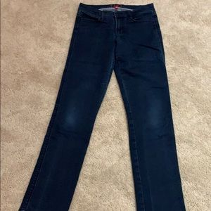 Women's straight leg denim jeans